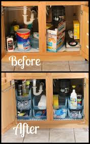 the kitchen sink cabinet organization sink cabinet organization i planners