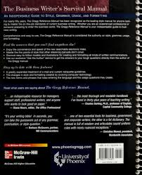 the gregg reference manual 10th edition university of phoenix