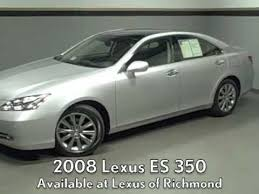 2008 lexus es 350 review 2008 lexus es 350 with the ultra luxury package available at