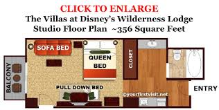 Disney Animal Kingdom Villas Floor Plan Photo Tour Of A Studio At The Boulder Ridge Villas At Disney U0027s