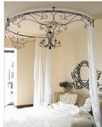 Wrought Iron Canopy Bed 4 Poster Beds With Wood And Wrought Iron Search Beds I