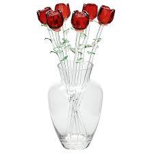 Vase With Roses Roses In Vase
