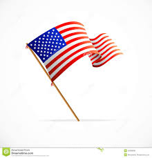 Us Flag Vector Free Download Vector Waving American Flag Flag Of Usa Stock Vector Image