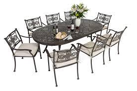 Aluminum Patio Furniture Set by Decoration Piece Cast Aluminum Patio Dining Set Seats And Metal