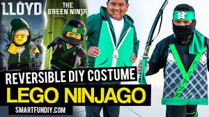 lego ninjago movie reversible green ninja costume youtube