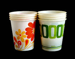 dixie cups 5 oz dixie cups small 1970s kitchen bathroom vintage