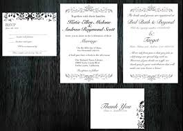 Invitation Card With Rsvp Elegant Wedding Invitations Rsvp Cards Thank You Cards Or