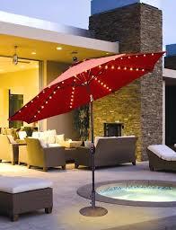 Patio Umbrella String Lights Led Lights For Outdoor Umbrella Solar Patio Umbrella Led String