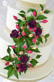Wedding Cake Gum 101 Best Cakes Of Floral Images On Pinterest Floral Cake