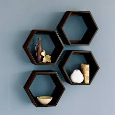 Floating Wood Shelf Plans by Wall Shelves Design Extra Ordinary Octagon Wall Shelves Hexagon