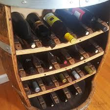 wine barrel 18 bottle wine rack free shipping central coast