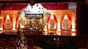 wedding decorations at shenbaga vinayagar temple singapore by km