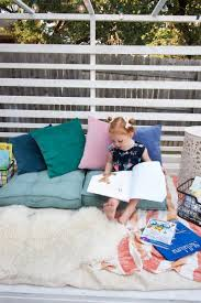 Make Your Own Outdoor Rug by Build Your Own Outdoor Reading Nook Discover