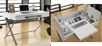 sleek desk this sleek simple desk hides a lot of storage the gadgeteer