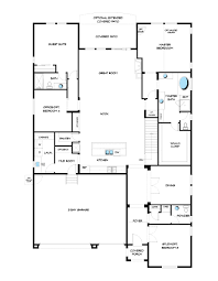 3 Bay Garage Plans by The Violet Floor Plan At Willowcroft Manor At Columbine Valley In