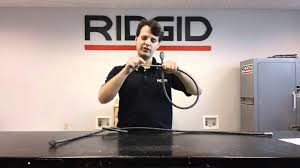 ridgid toilet auger cable youtube