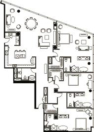 Panorama Towers Las Vegas Floor Plans Veer Towers Floor Plan Three Bedroom Penthouse Vph 4 Veer Towers