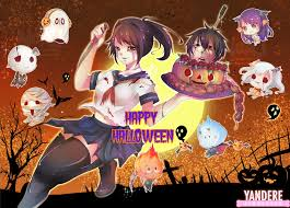 anime happy halloween happy halloween yandere simulator development blog