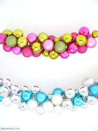 diy ornament baubles garland ideas
