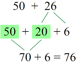 adding with whole tens