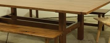 handcrafted 10 person dining table warnock woodwork