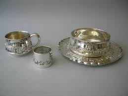baby silver gifts 124 best sterling silver baby cups images on vintage