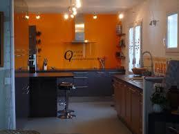 cuisine orange et noir awesome cuisine noir quel couleur mur gallery antoniogarcia info