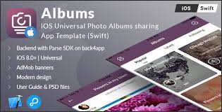 Photo Albums For Sale Albums Ios Universal Photo Albums Sharing App Template Swift