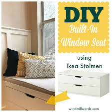 Window Seat Storage Bench Diy by 5 More Ways To Fake Built In Shelving The Sequel Window
