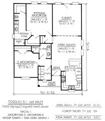 4 Bedroom House Plans 1 Story Home Design 93 Marvelous 1 Story House Planss