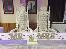 Throne Chairs For Hire Wedding Party Decorations Hire