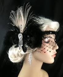 1920 hair accessories deco flapper headband great gatsby headband flapper