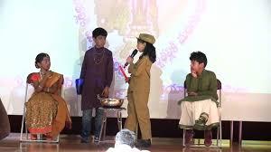 telugu skit boorela mookudu by children