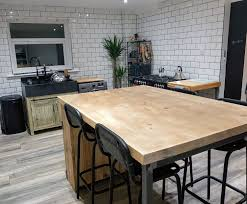 industrial style kitchen island industrial style kitchen island with shelving and cupboard www