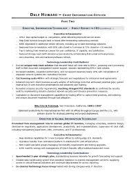 sle cio resume 11 cio technology executive resume sle small business resume skills lifehacker resume builder script