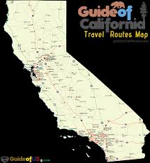 Travel Maps California Travel Maps