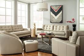 Peyton Leather Sofa White Leather Living Room Set White Living Room Set Black Living