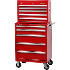 stanley tool chest cabinet stanley 27 inch 5 drawer rolling tool cabinet walmart com