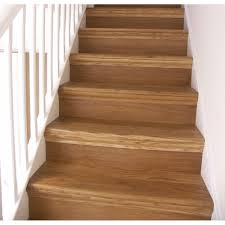 Laminate Floor On Stairs Options Oak Cladding 12 Straight Stair Kit Heritage Collection