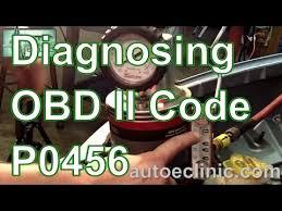 evap system check engine light how diagnose check engine light code p0456 small evap emission