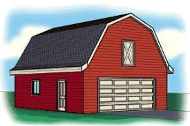 gambrel roof garages plans with gambel roofs blueprints