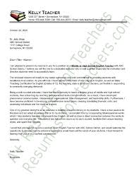 foreign language teacher cover letter cover letter example cover