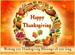 thanksgiving wishes to on free happy