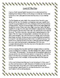 lord of the flies themes and messages the lord of the flies plot outline gcse english marked by
