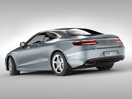 3d model mercedes benz s class coupe 2015 cgtrader