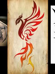 tribal phoenix tattoo designs pictures to pin on pinterest
