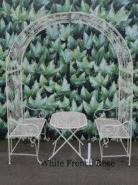 wedding arches on ebay arch table and chairs wedding arch garden furniture garden arch