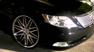 lexus wheels and tyres dubsandtires com 2011 lexus ls 460 review 22 u0027 u0027 lexani machined