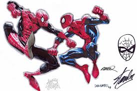amazing spider man vs superior spider man by ramos stegman