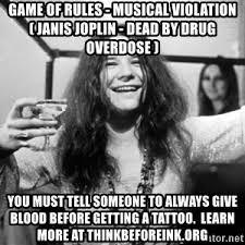 Janis Joplin Meme - janis joplin 1968 meme generator